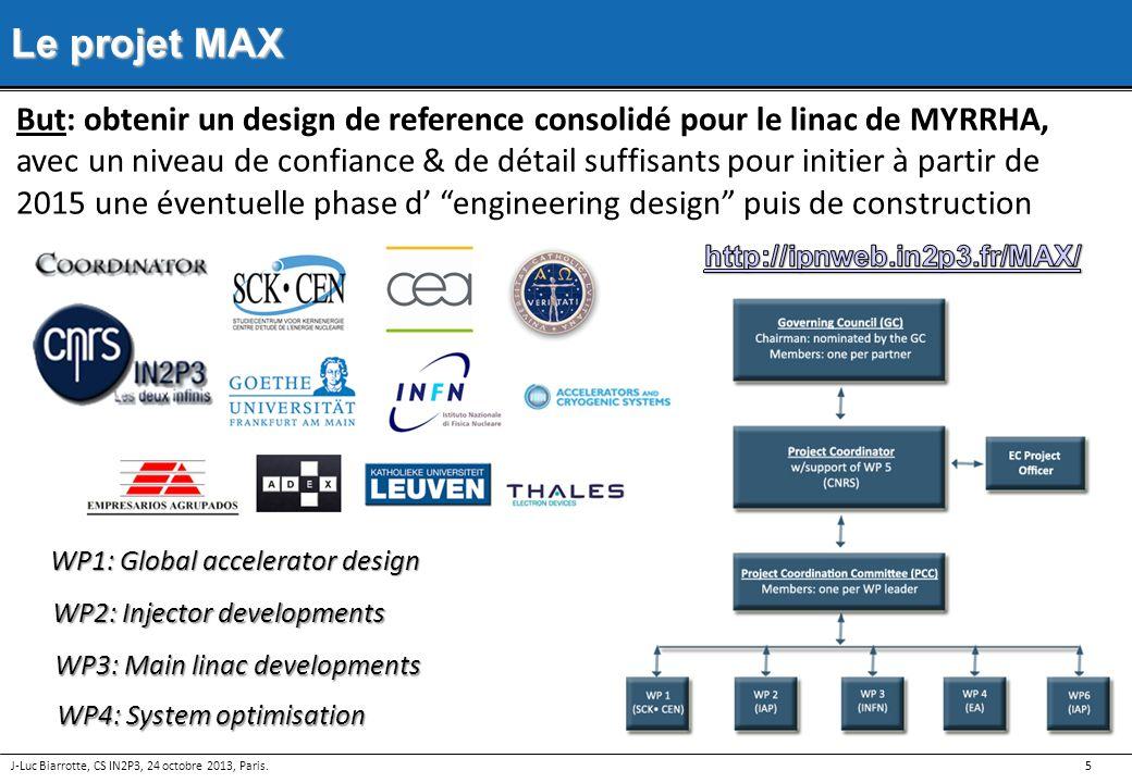 Le projet MAX