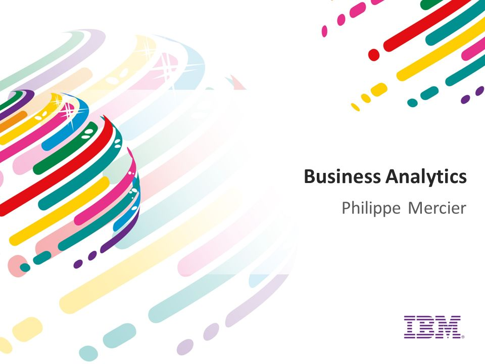 Business Analytics Philippe Mercier