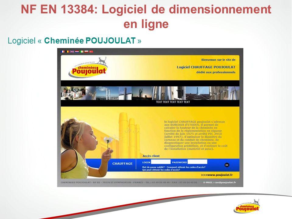 NF EN 13384: Logiciel de dimensionnement