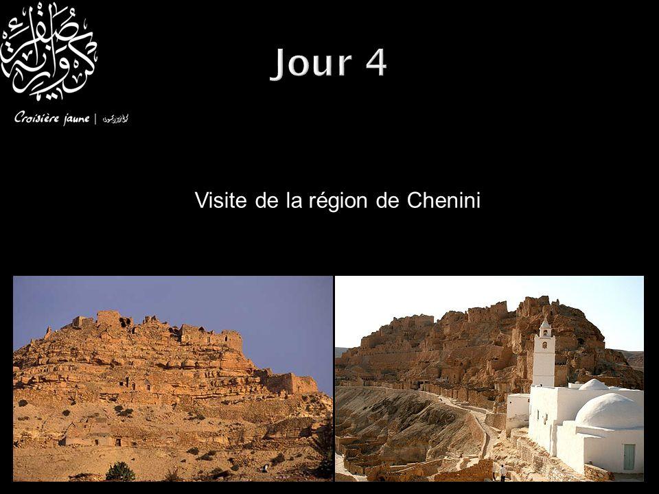 Visite de la région de Chenini