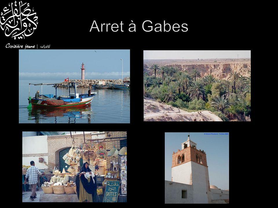 Arret à Gabes