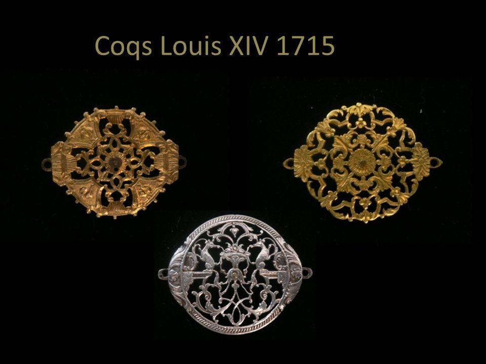 Coqs Louis XIV 1715coqs