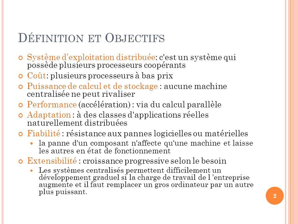 Définition et Objectifs