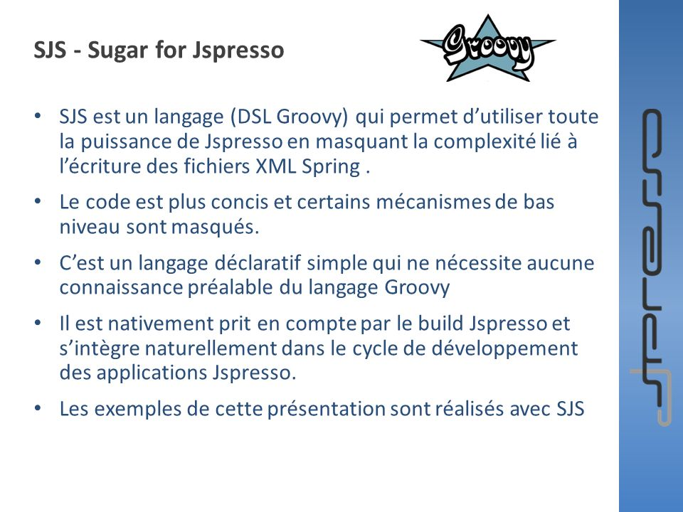 SJS - Sugar for Jspresso