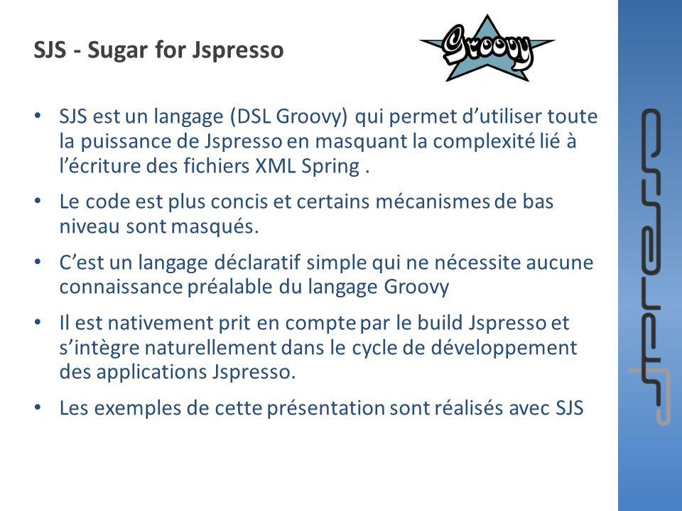 SJS - Sugar for Jspresso