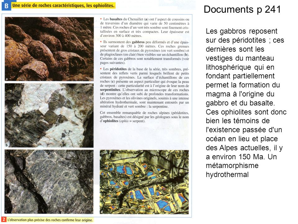 Documents p 241