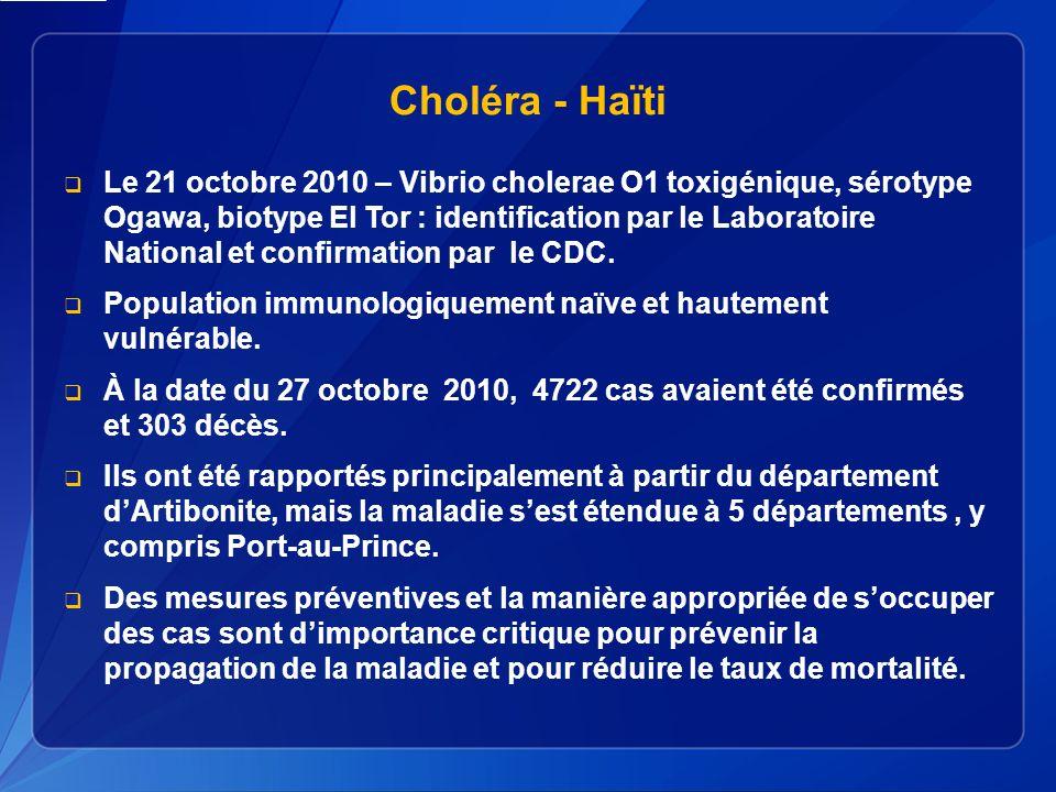 Choléra - Haïti