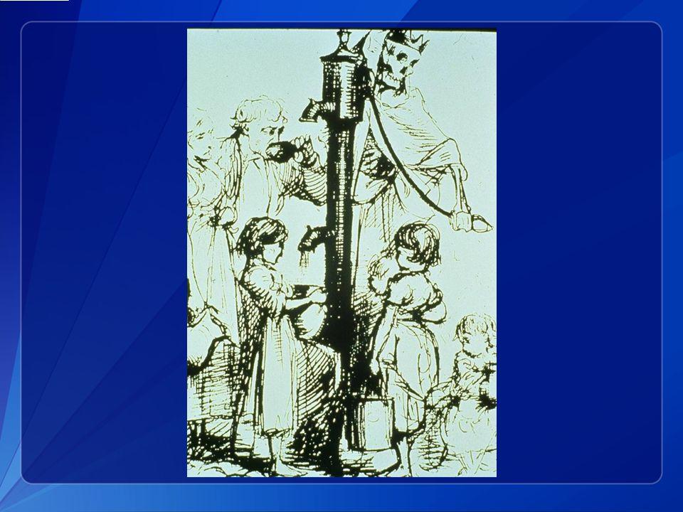 La transmission par l eau a d abord été reconnue en Europe par John Snow entre autres, au milieu du XIXème siècle.