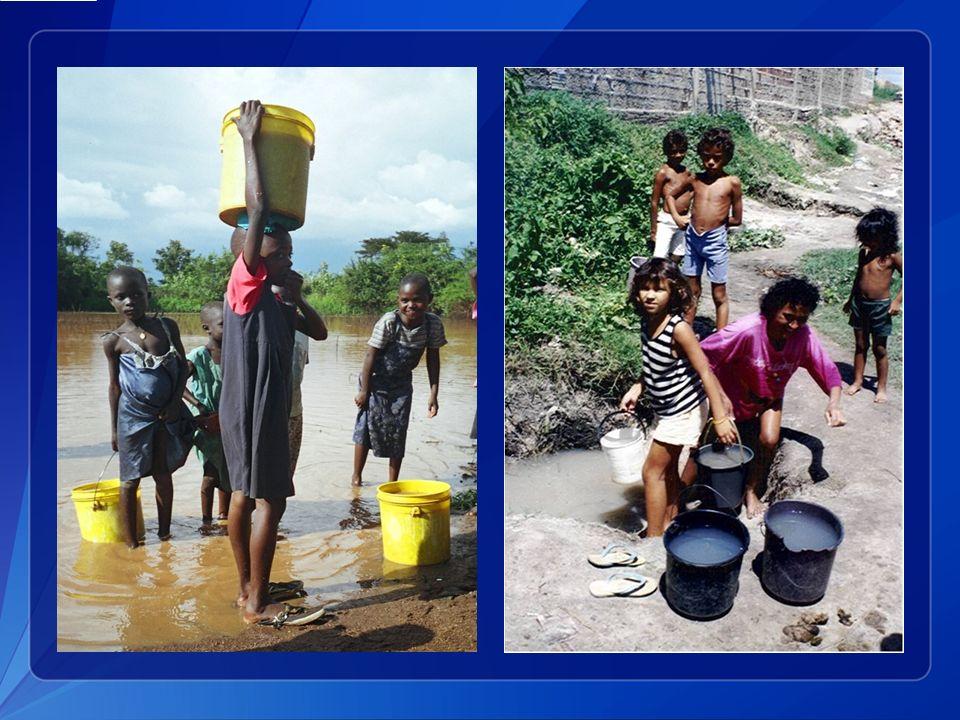 Boire de l eau de surface contaminée constitue également une source importante d épidémie de choléra.