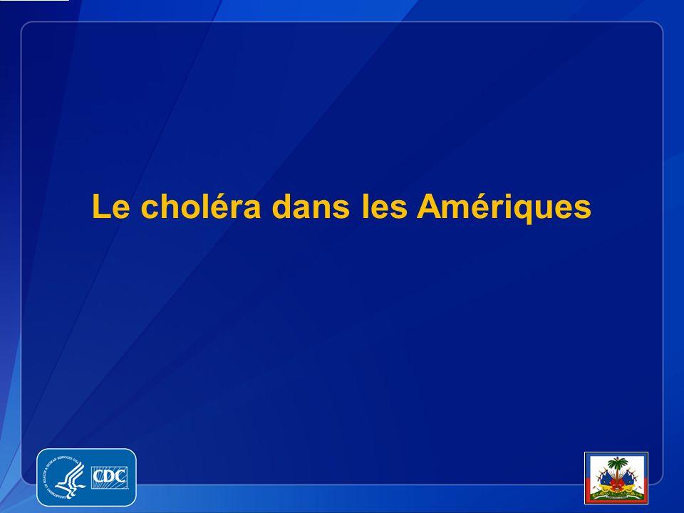 Le choléra dans les Amériques