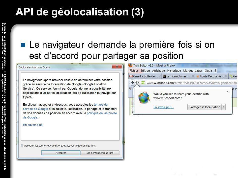 API de géolocalisation (3)