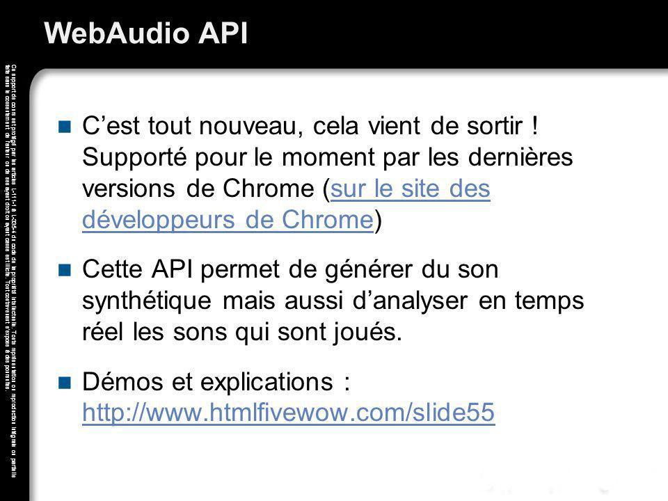 WebAudio API