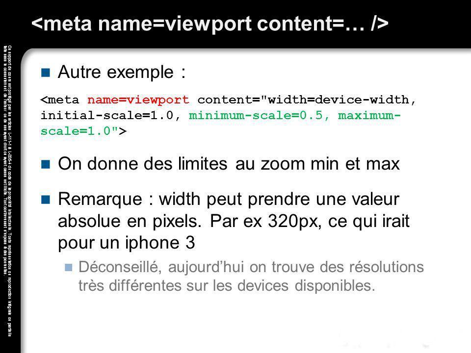 <meta name=viewport content=… />