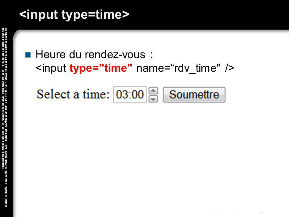<input type=time>