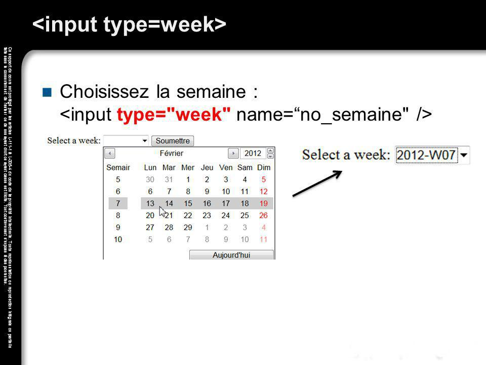 <input type=week>