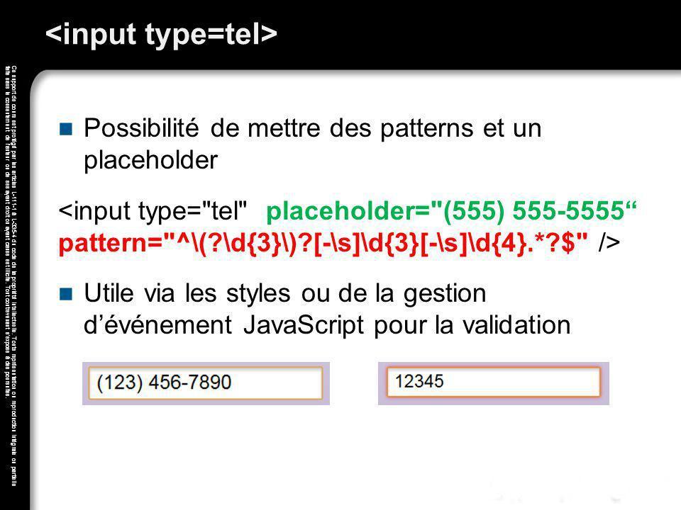 <input type=tel>
