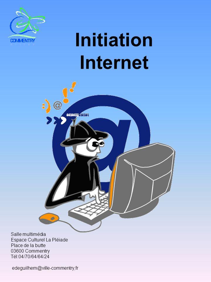 Initiation Internet Salle multimédia Espace Culturel La Pléiade