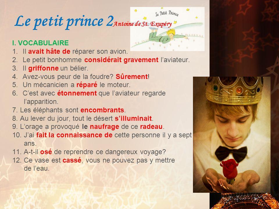 Le petit prince 2Antoine de St. Exupéry
