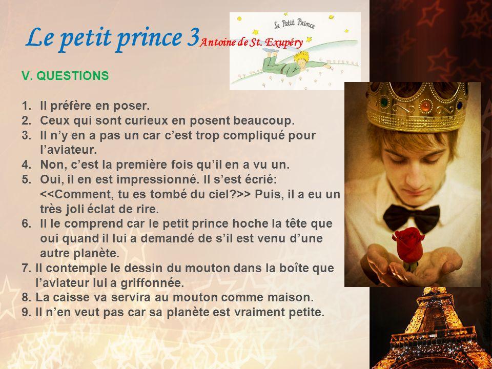 Le petit prince 3Antoine de St. Exupéry