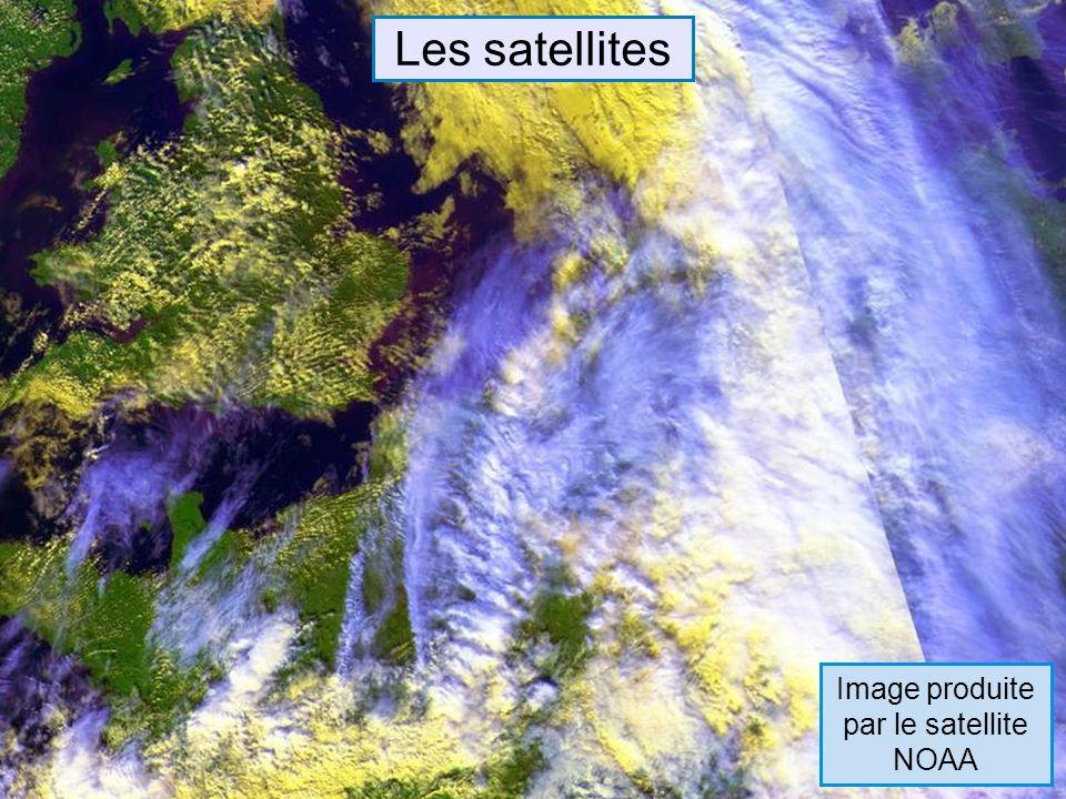 Image produite par le satellite NOAA