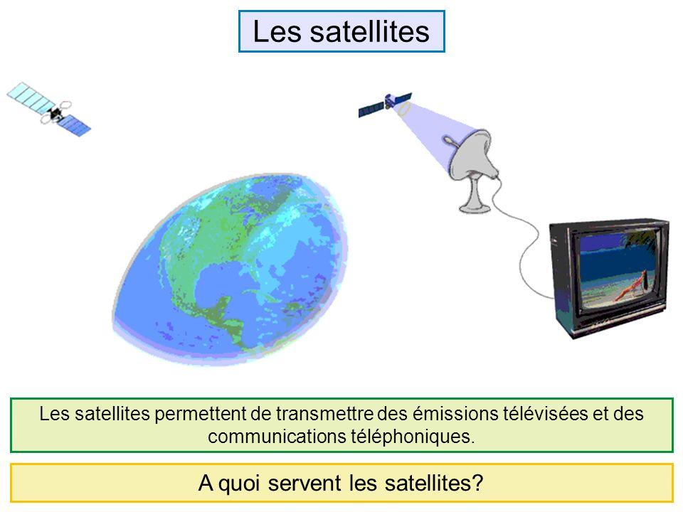 A quoi servent les satellites
