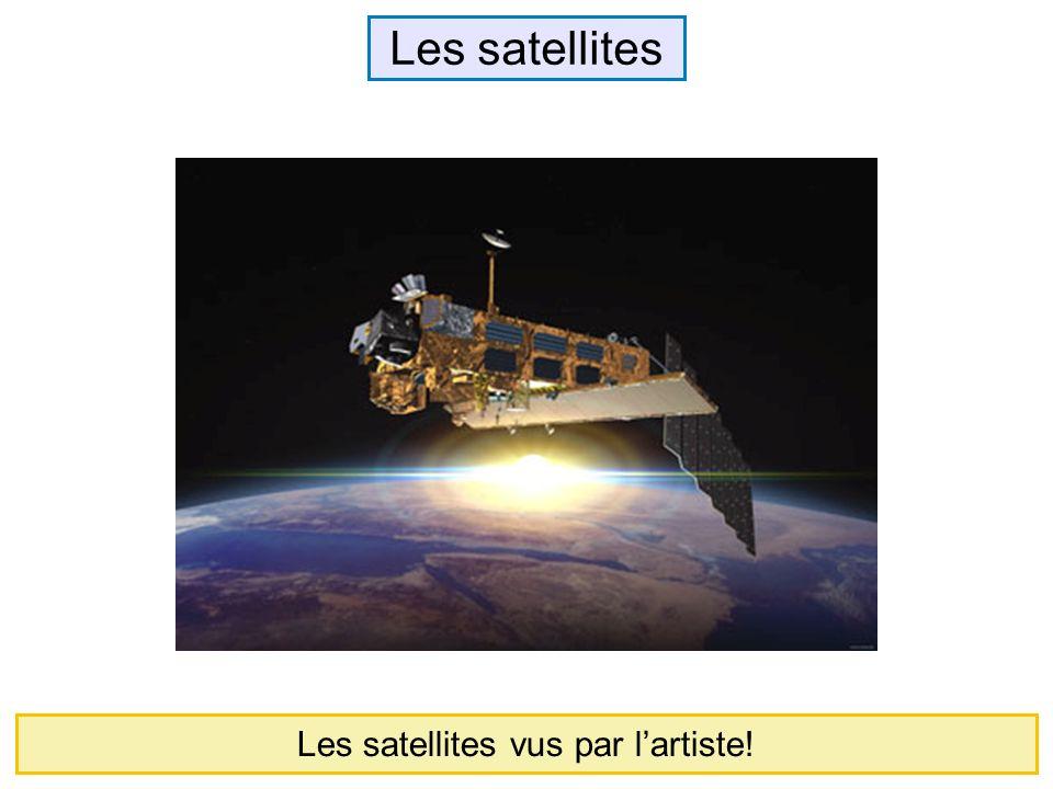 Les satellites vus par l'artiste!