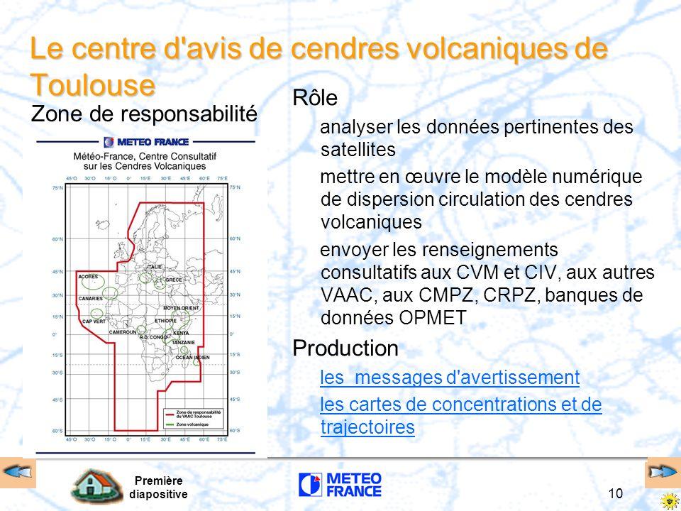 Le centre d avis de cendres volcaniques de Toulouse