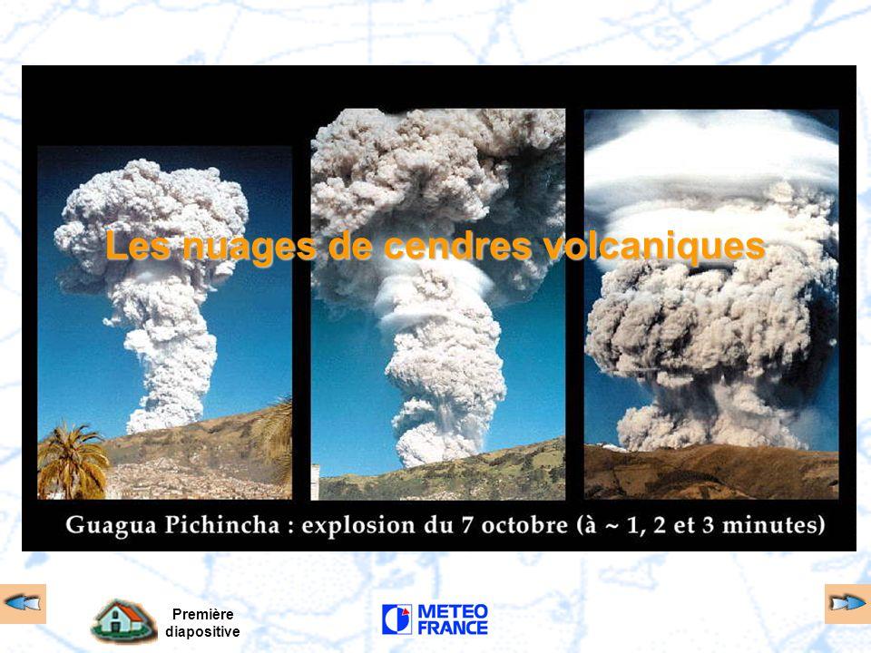 Les nuages de cendres volcaniques