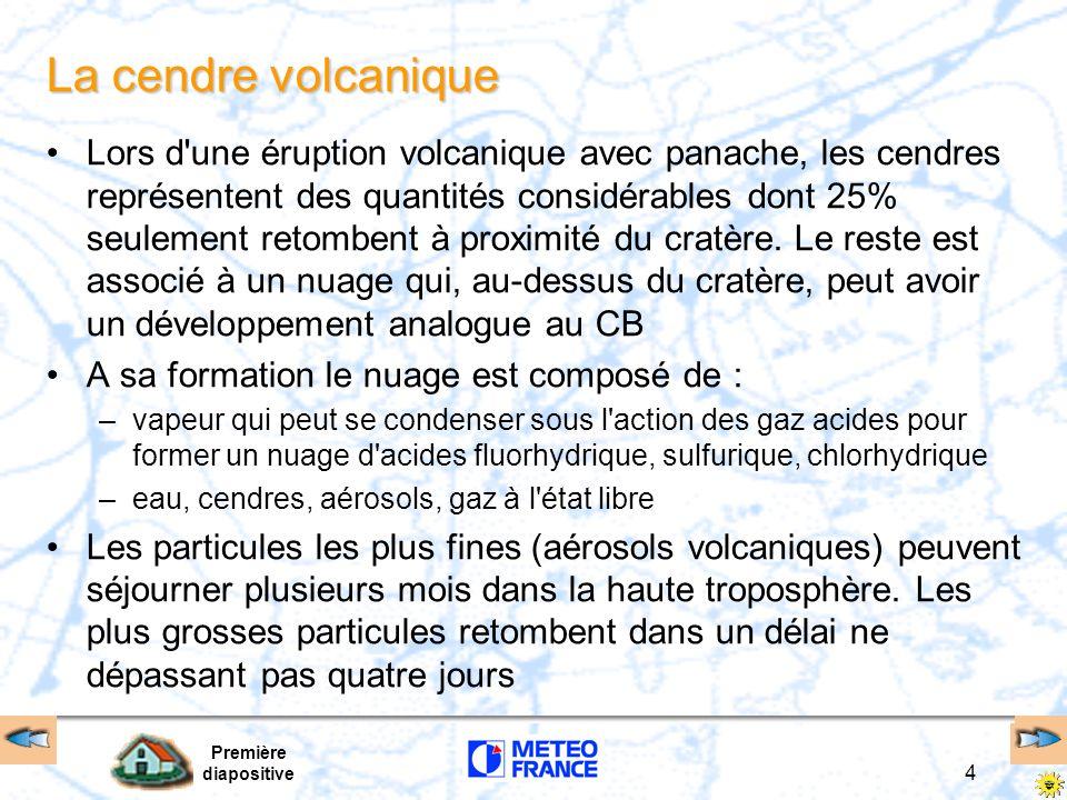 La cendre volcanique