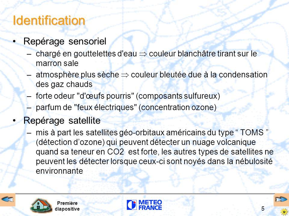 Identification Repérage sensoriel Repérage satellite