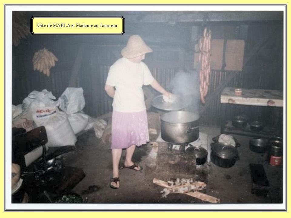 Gîte de MARLA et Madame au fourneau
