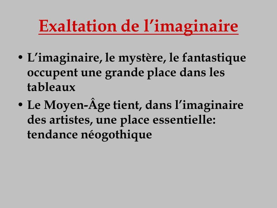 Exaltation de l'imaginaire