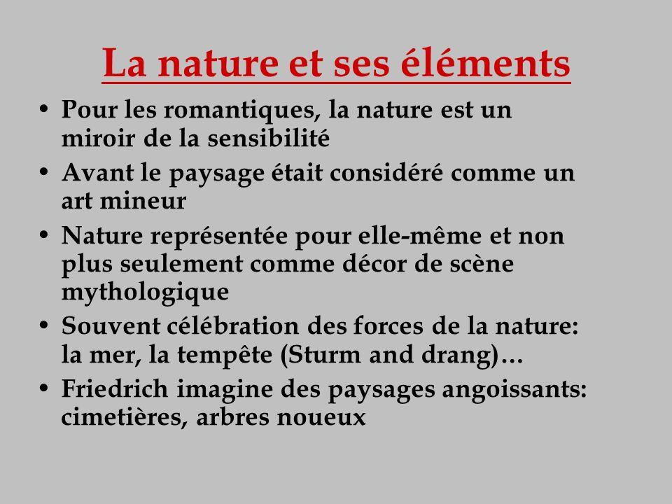 La nature et ses éléments