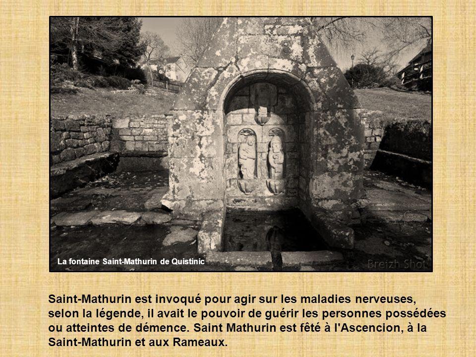 La fontaine Saint-Mathurin de Quistinic