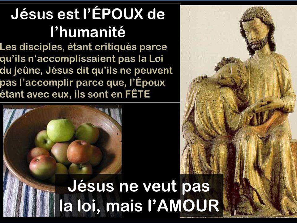 Jésus est l'ÉPOUX de l'humanité