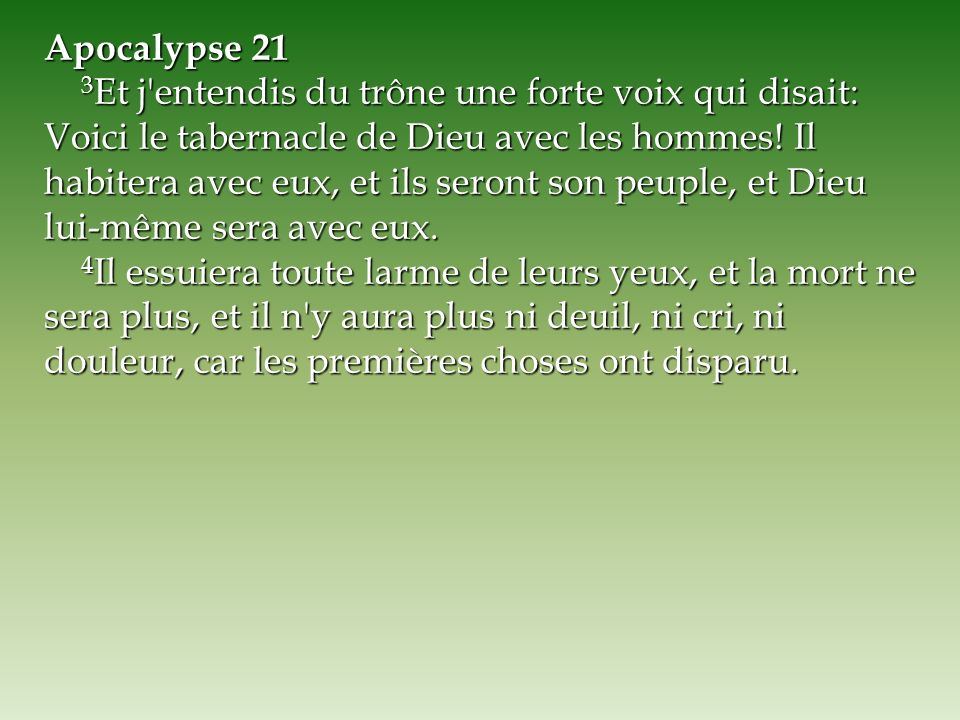 Apocalypse 21