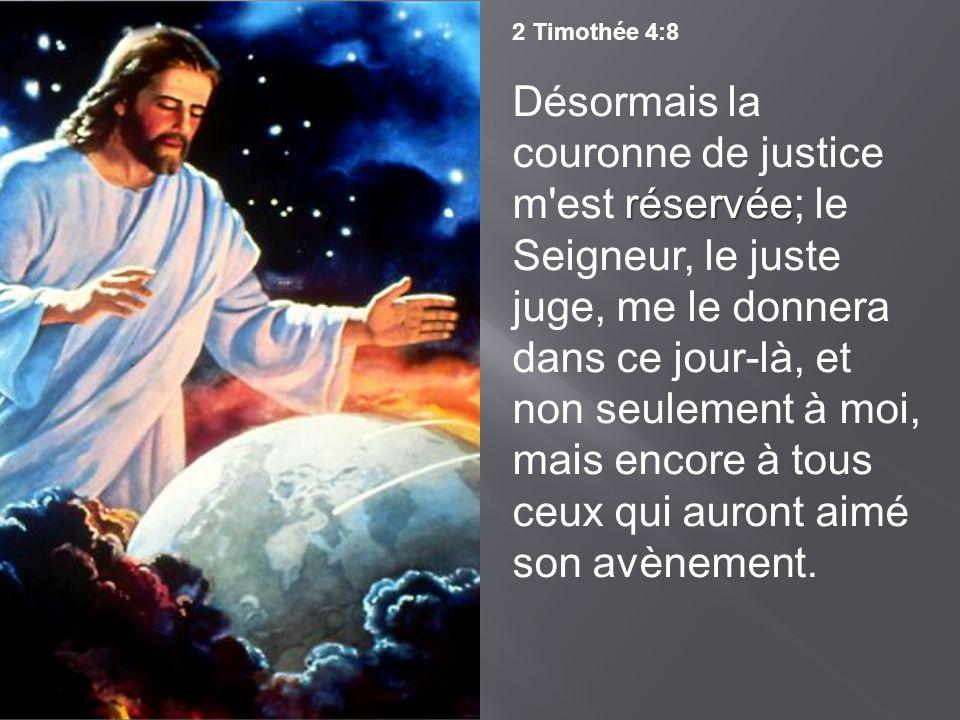 2 Timothée 4:8
