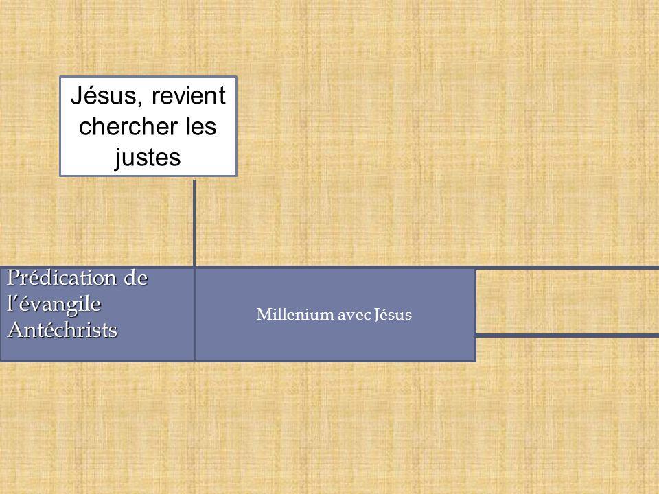 Jésus, revient chercher les justes