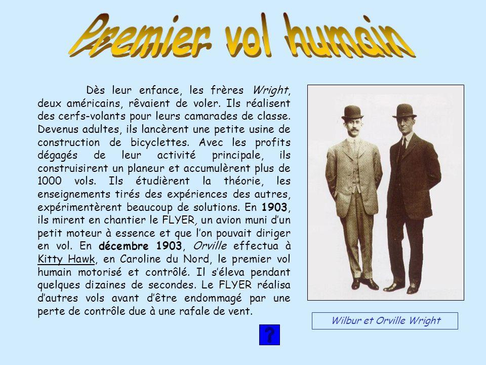 Wilbur et Orville Wright