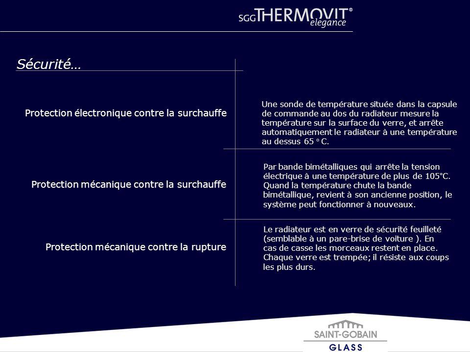 Sécurité… Protection électronique contre la surchauffe