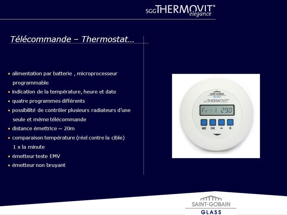Télécommande – Thermostat…