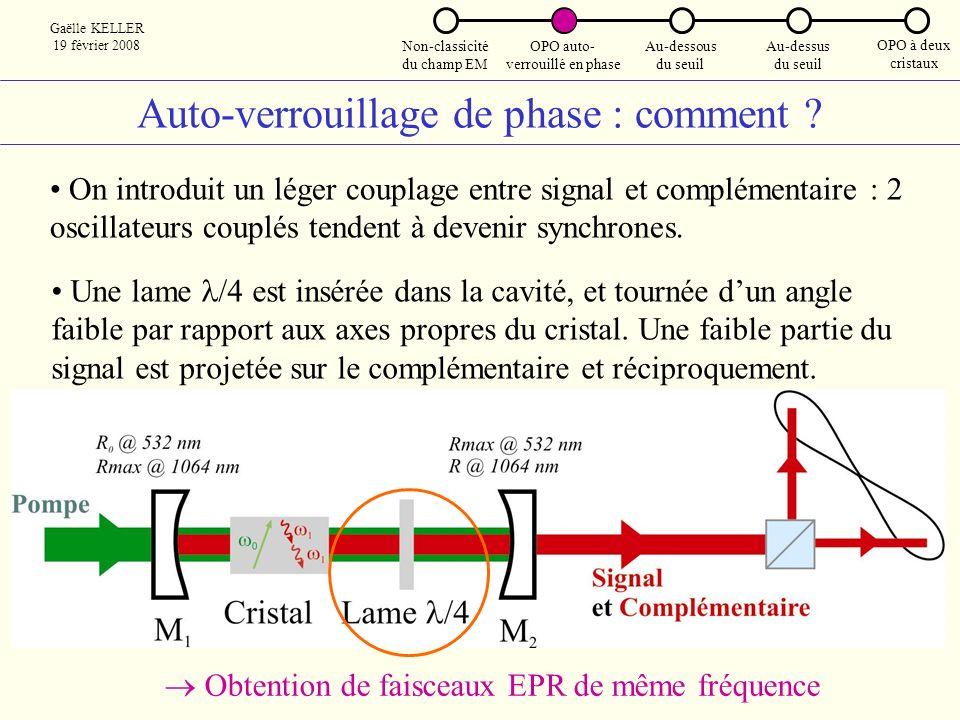 Auto-verrouillage de phase : comment