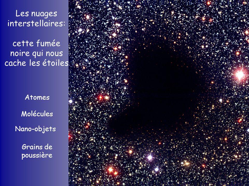 Les nuages interstellaires: cette fumée noire qui nous cache les étoiles
