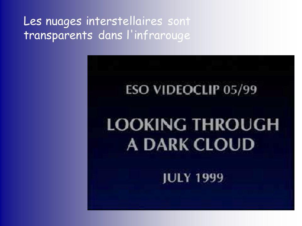 Les nuages interstellaires sont transparents dans l infrarouge