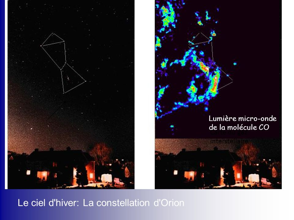 Le ciel d hiver: La constellation d Orion