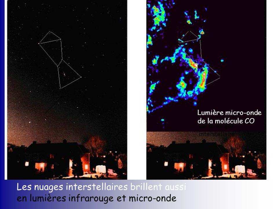 Les nuages interstellaires brillent aussi