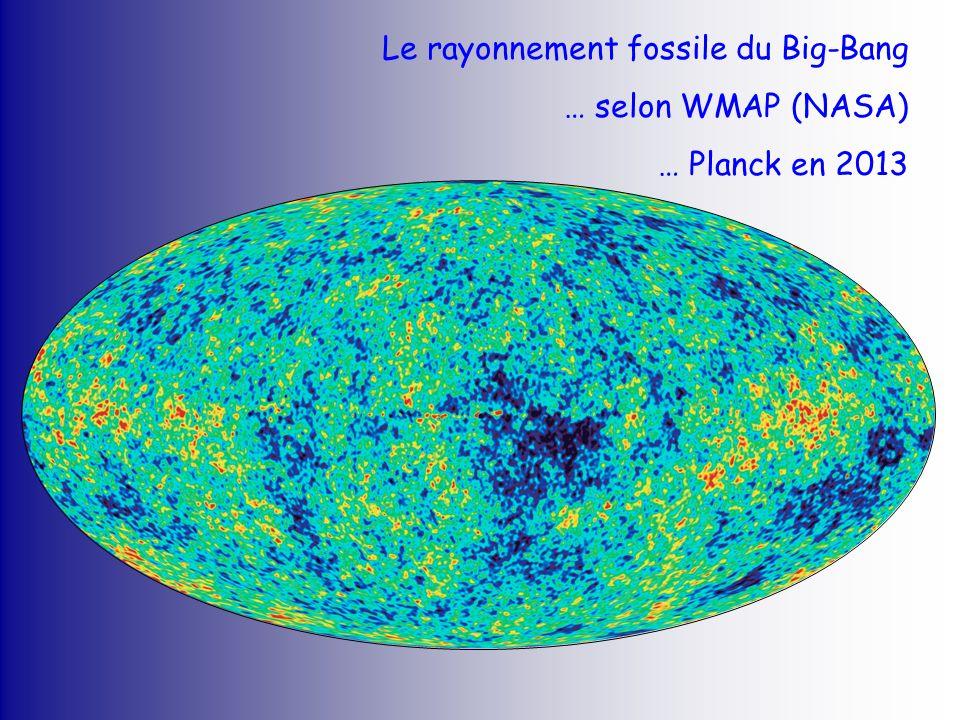 Le rayonnement fossile du Big-Bang