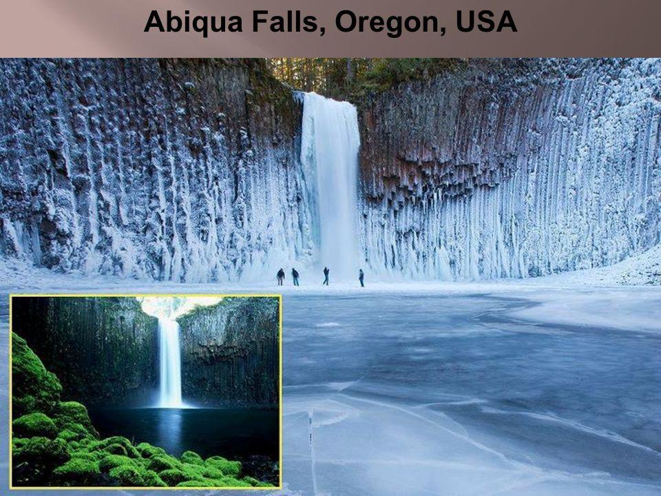 Abiqua Falls, Oregon, USA