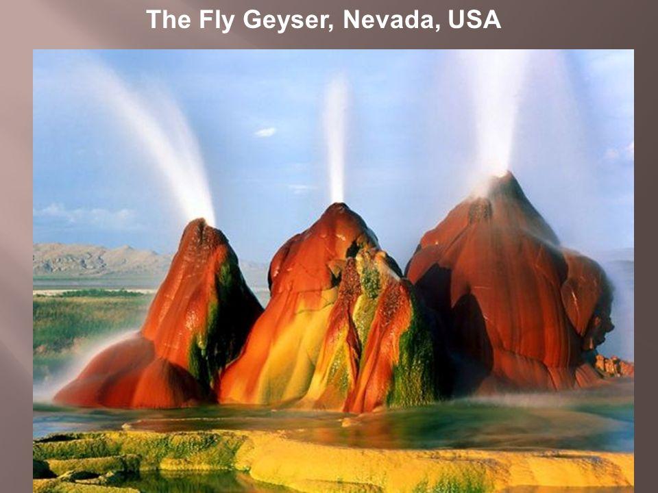 The Fly Geyser, Nevada, USA