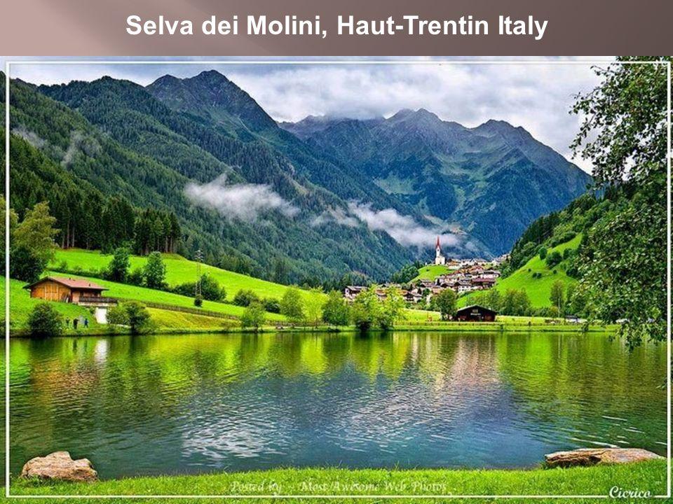 Selva dei Molini, Haut-Trentin Italy